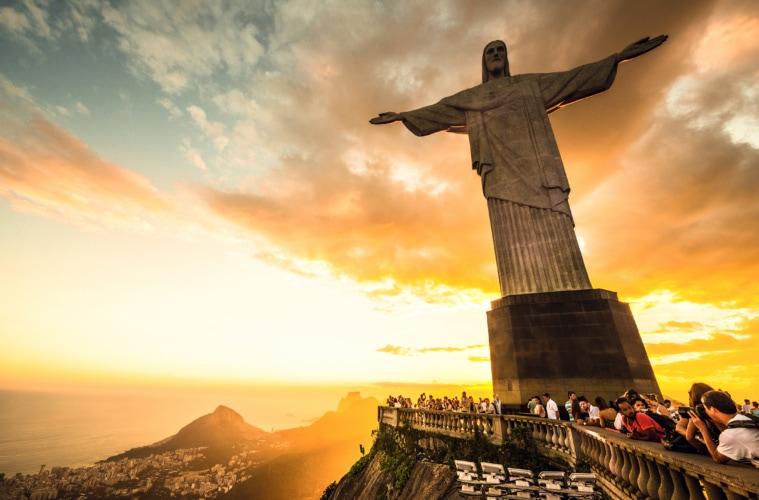 Brasilien-Quiz: Corcovado Hill