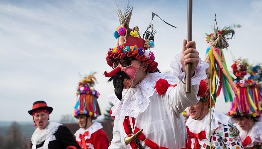 Karneval in Böhmen