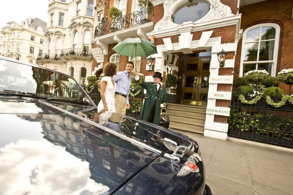 Milestone Hotel in London: Chauffeuer-Service