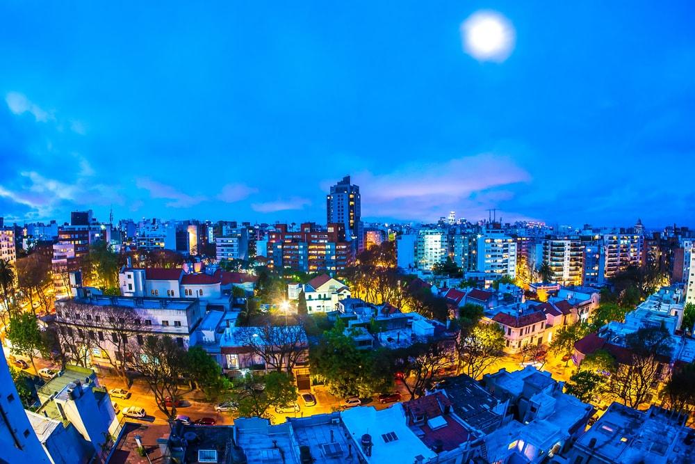 Skyline von Montevideo