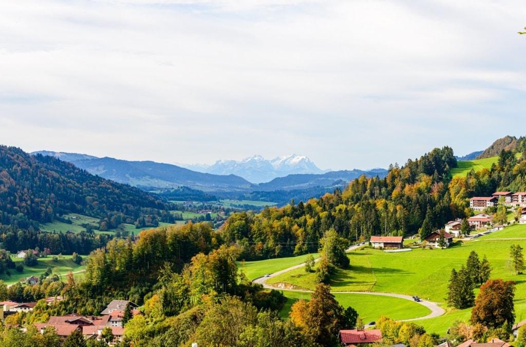 Oberstaufen in Bayern ist Alpenparadies pur.