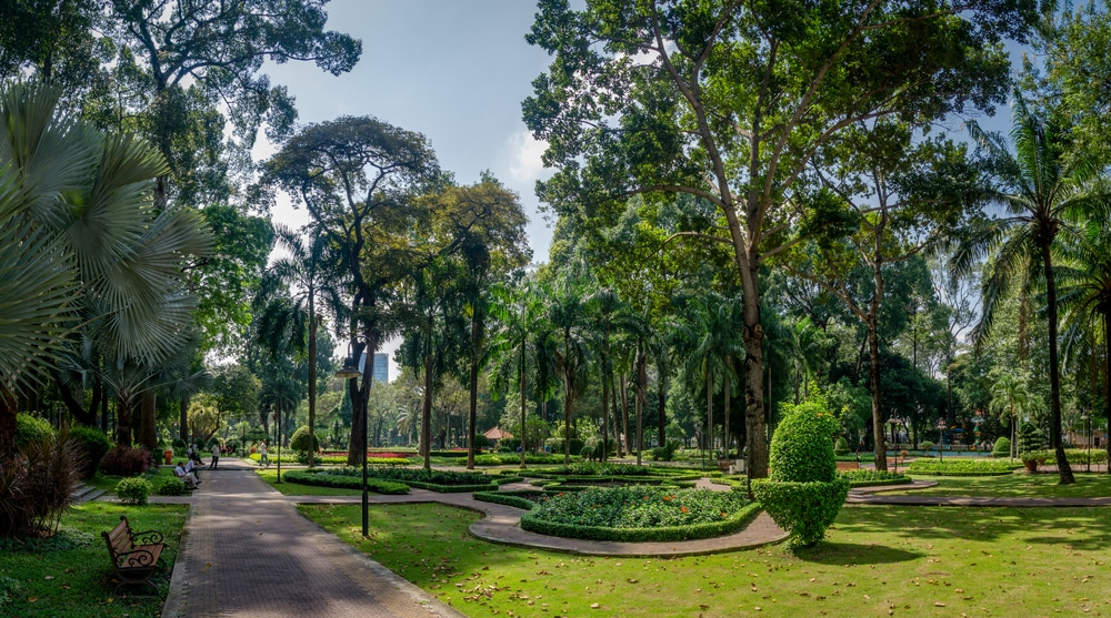 Park in Saigon