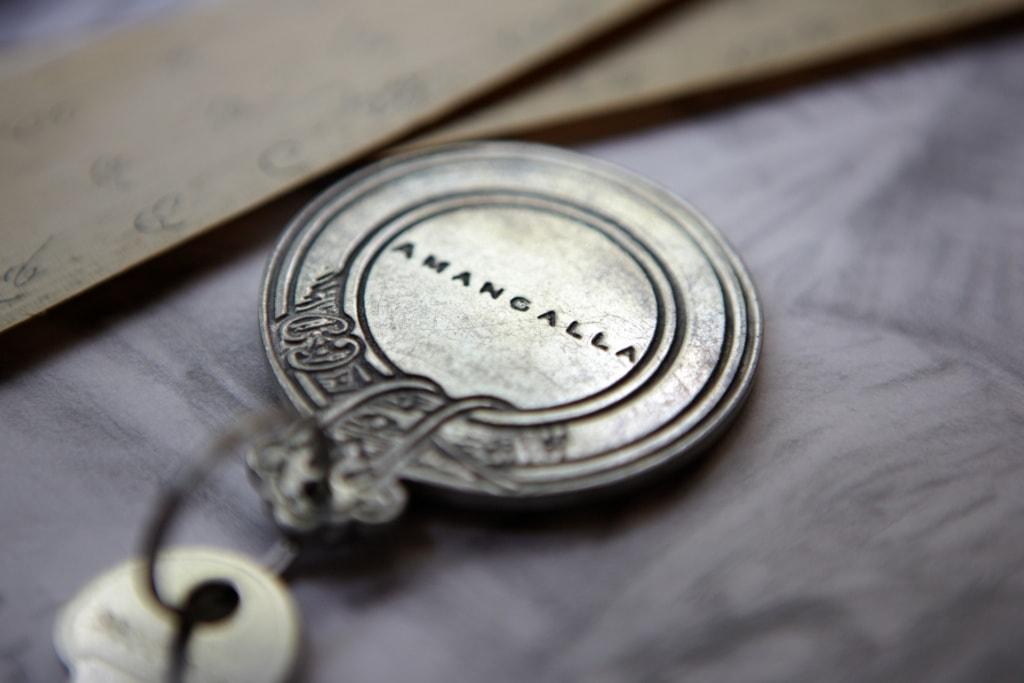 Zimmerschlüssel im Amangalla