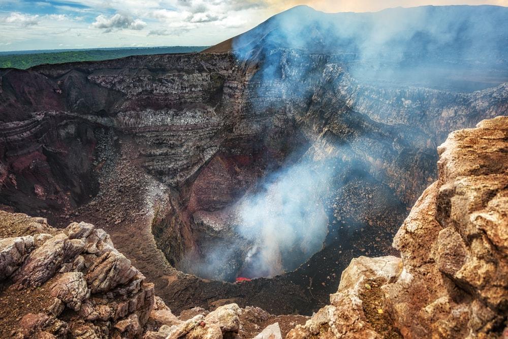 Was man in Nicaragua gesehen haben sollte: Vulkan Masaya