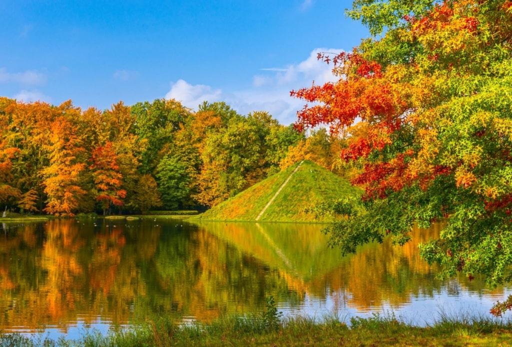 Pyramide im Branitz Park in Cottbus