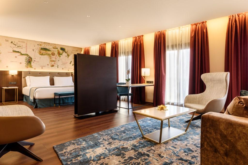 Zimmer im Hotel Eurostar Museum Lissabon