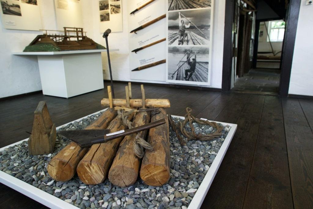Floßermuseum in Unterrodach im Frankenwald