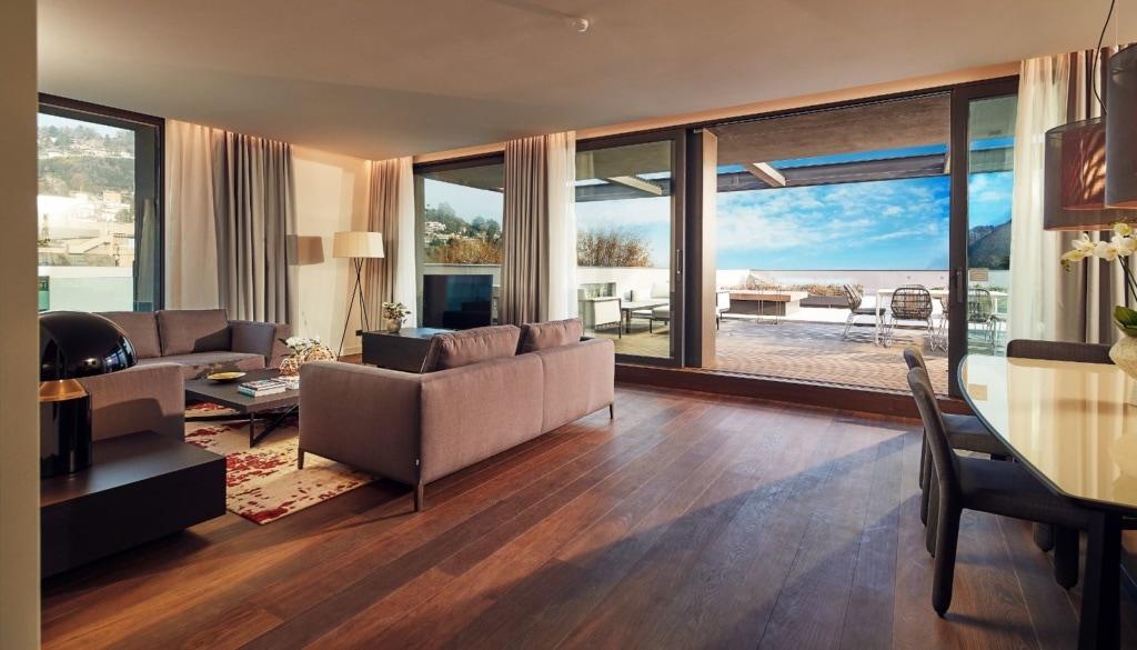 Zimmer im Hilton Lake Como