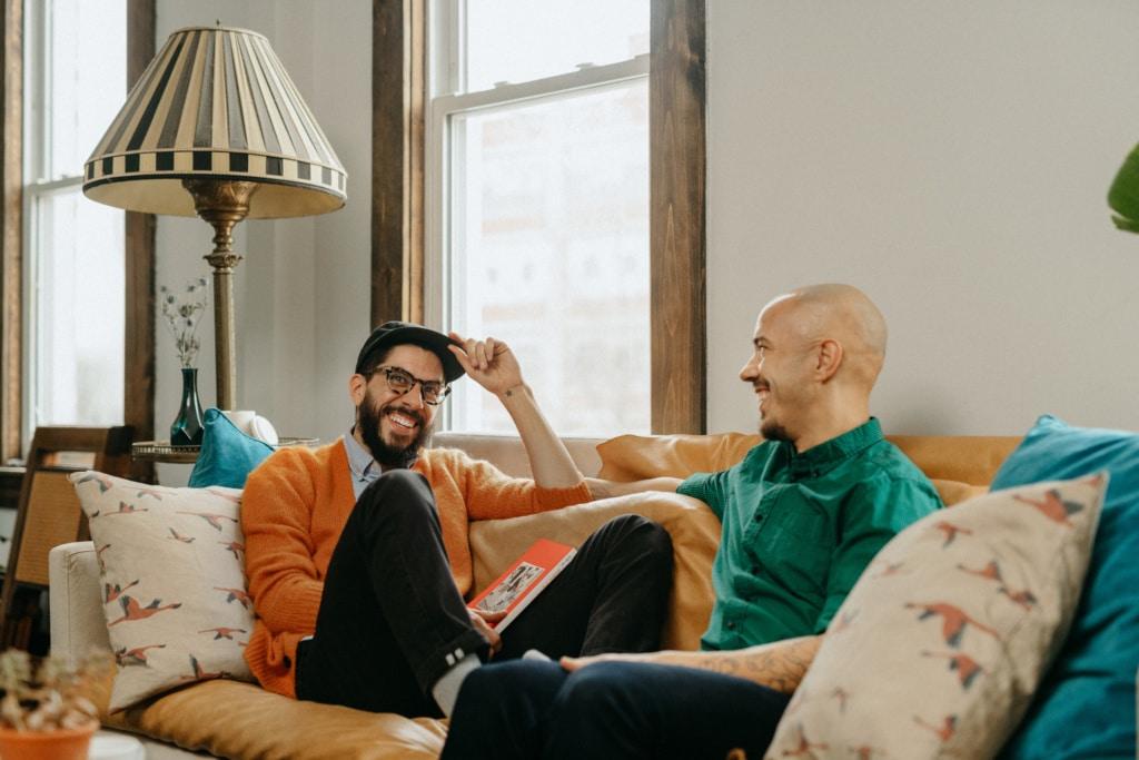 Airbnb-Plus Gastgeber James und Dominc aus Chicago