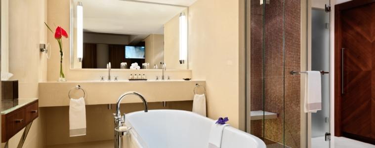 umeirah Frankfurt - Grand Deluxe Suite Bathroom
