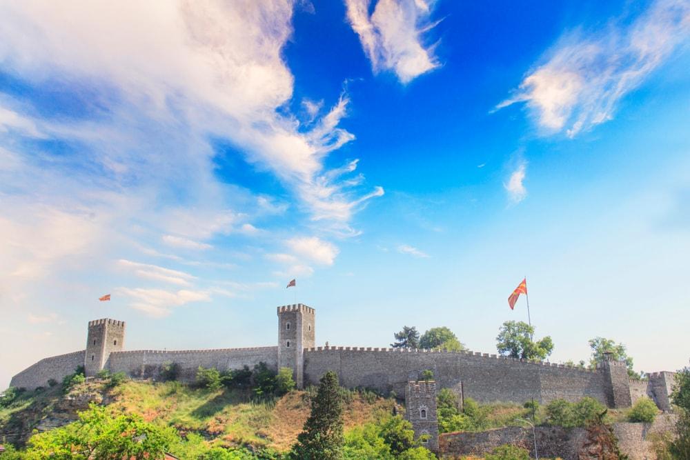 Burgmauer Kale in Skopje
