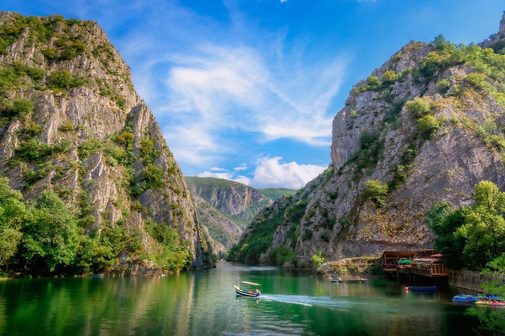 Matka-Schlucht in Mazedonien