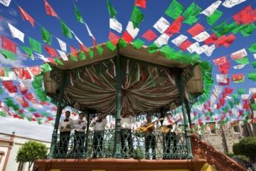 Kiosco de plaza en Jalisco