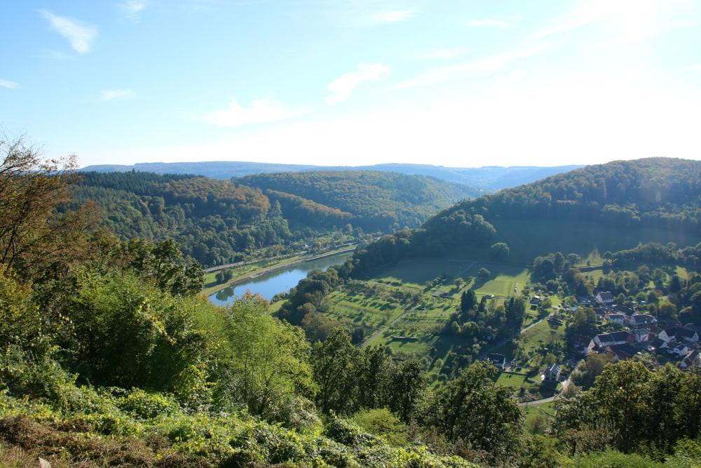 Nibelungensteig in Hessen