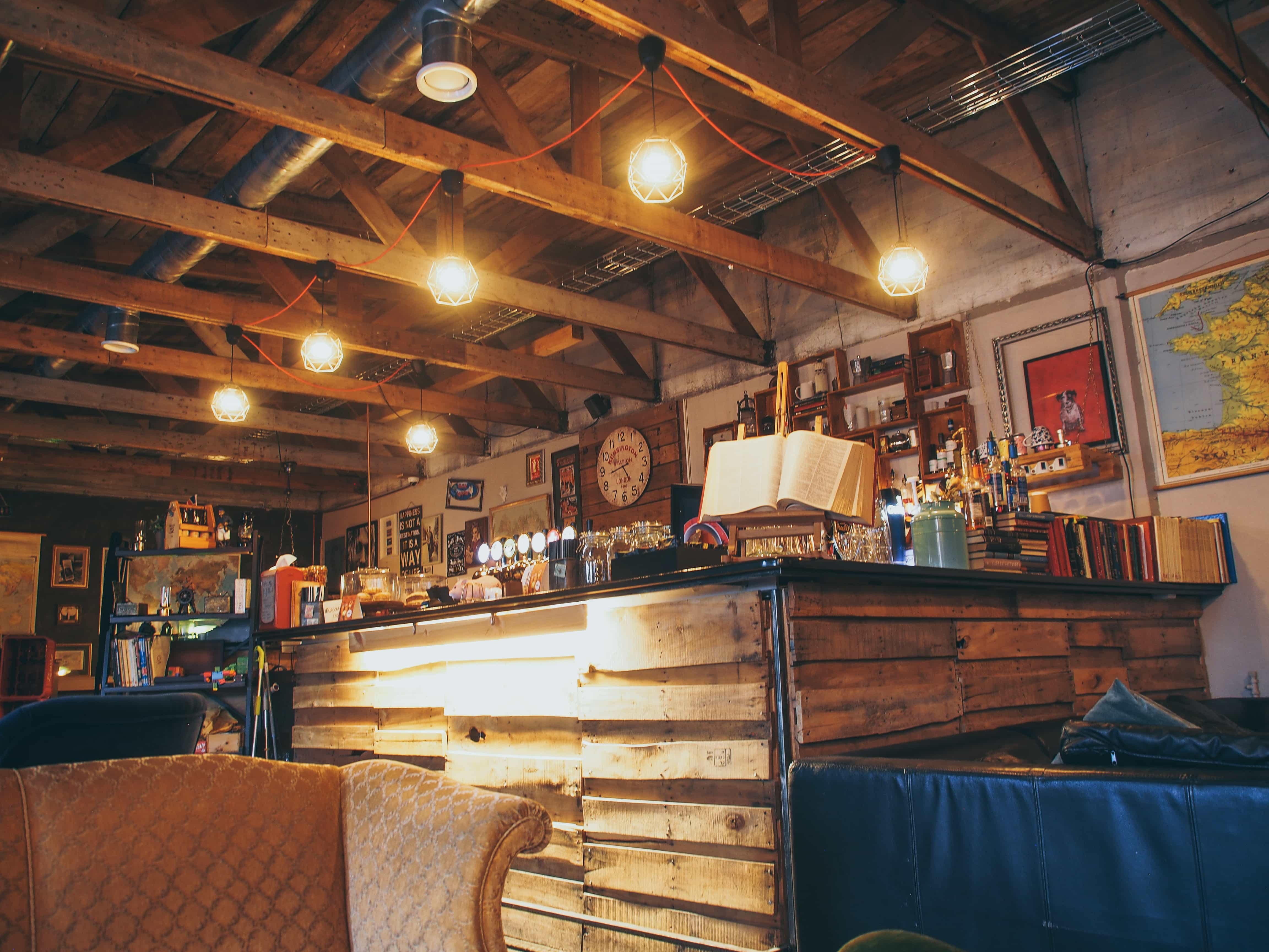 Uriges Café Petite in island
