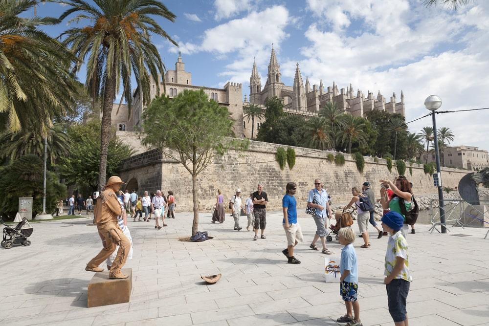 Historische Sehenwürdigkeiten auf Mallorca:Palau de l'Almudaina