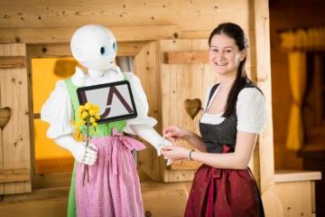 Roboter im »Übergossenen Alm Resort«