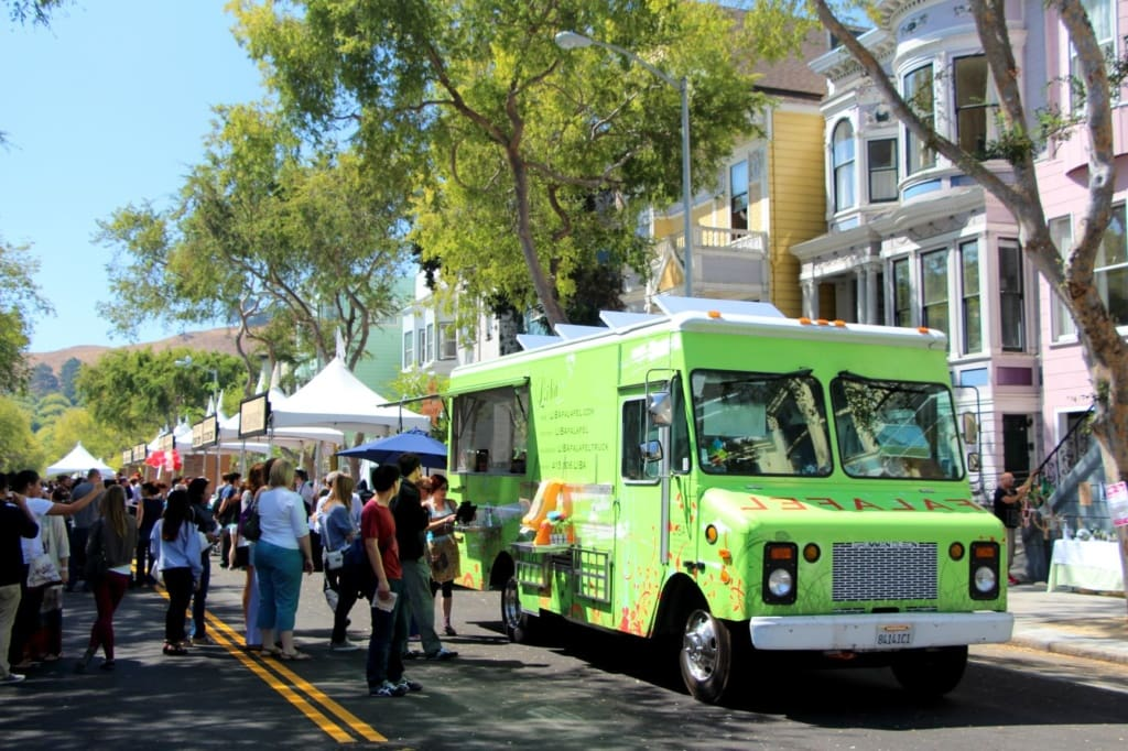 Street-Food-Wagen in San Francisco