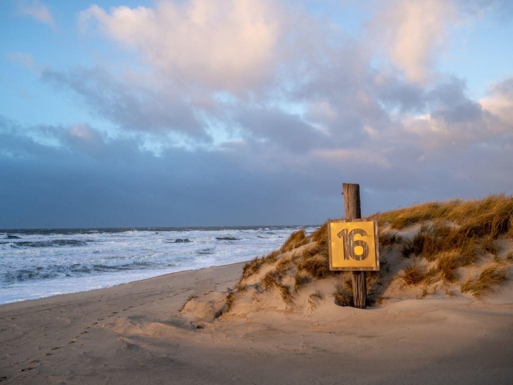 Strand Buhne 16 auf Sylt