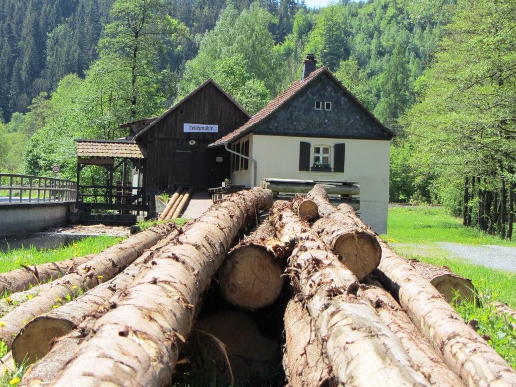 Teichmühle im Frankenwald
