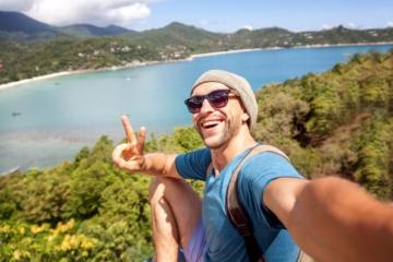 Urlaubsfotos: Selfie