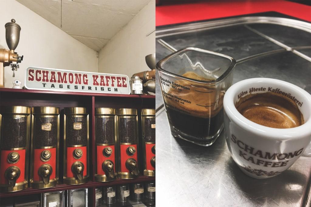 Wie gelingt einem der perfekte Espresso? Im Schamong Kaffee haben wir es gelernt.