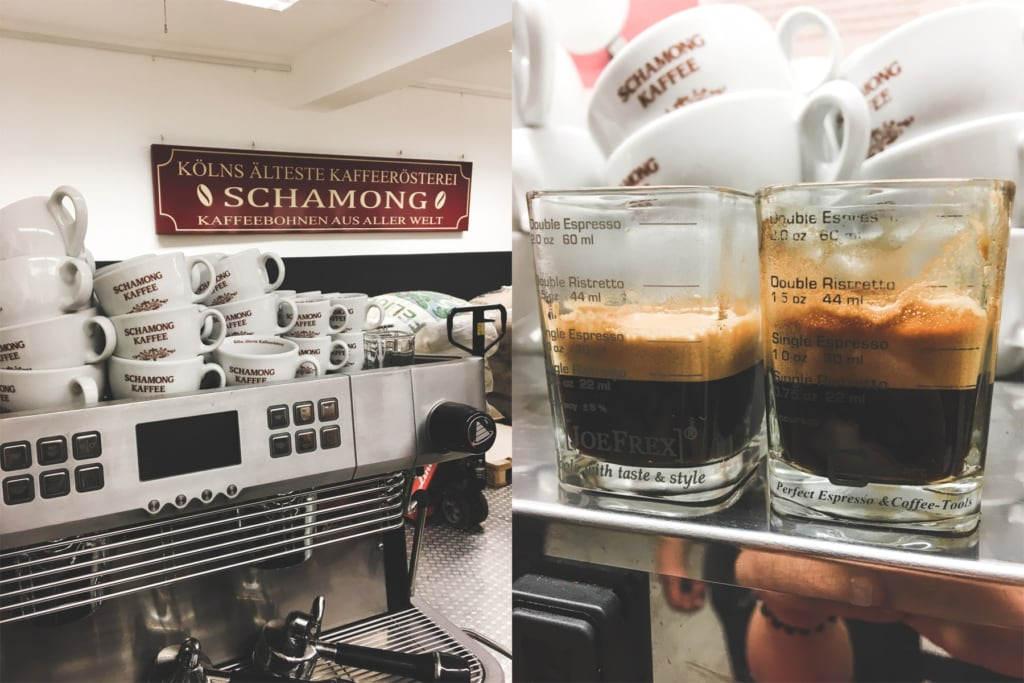 Espresso Basic Workshop im Schamong Kaffee in Köln