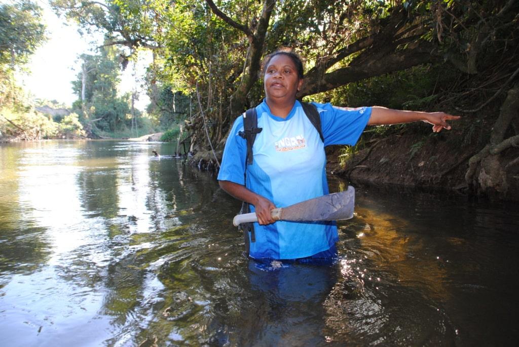 Aborigine Caroline im Nordosten Queenslands
