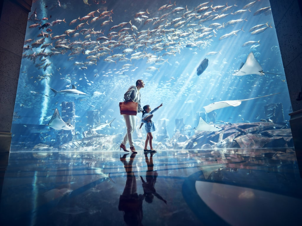 Aquarium im Atlantis Resort China