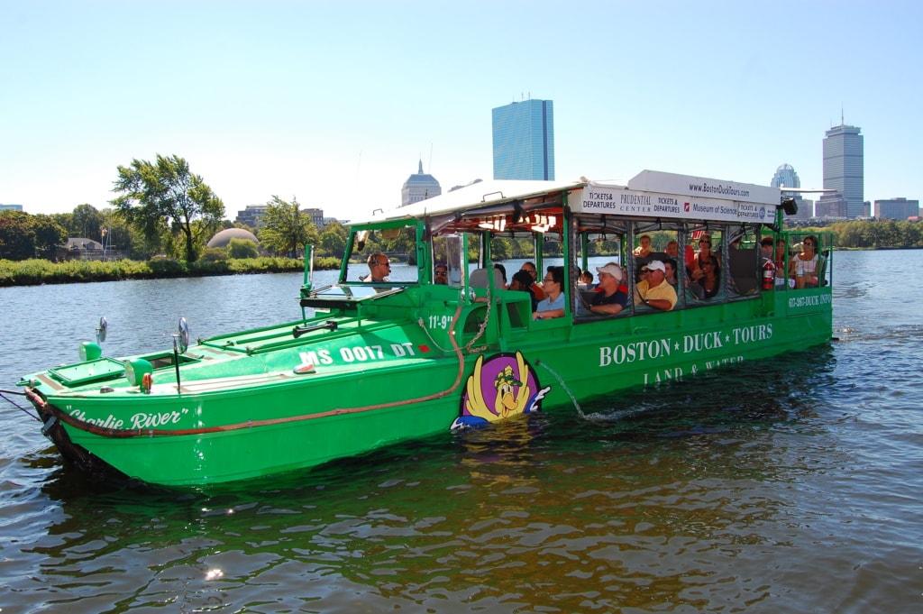 Schönsten Orte für Familien in Neuengland: Fahrt mit Boston Duck Tours