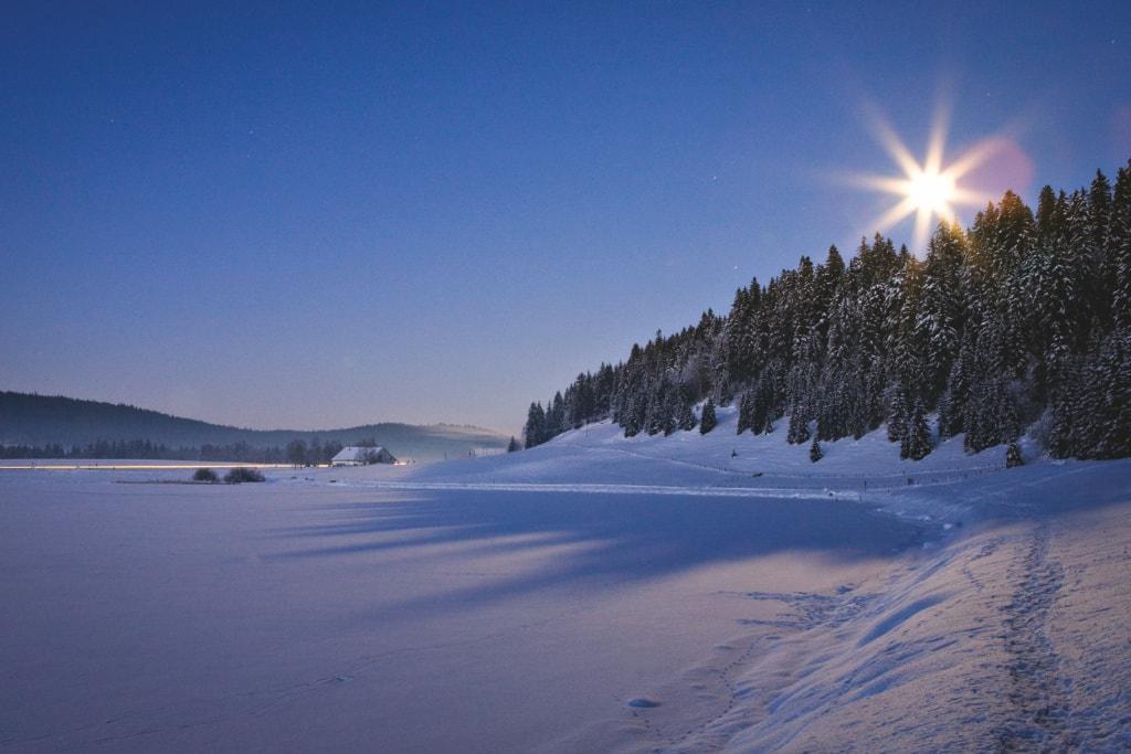 Brevine Tal mit dem Lac des Tailleres