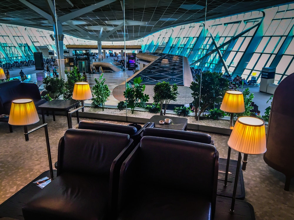 Business-Class-Lounge in Baku