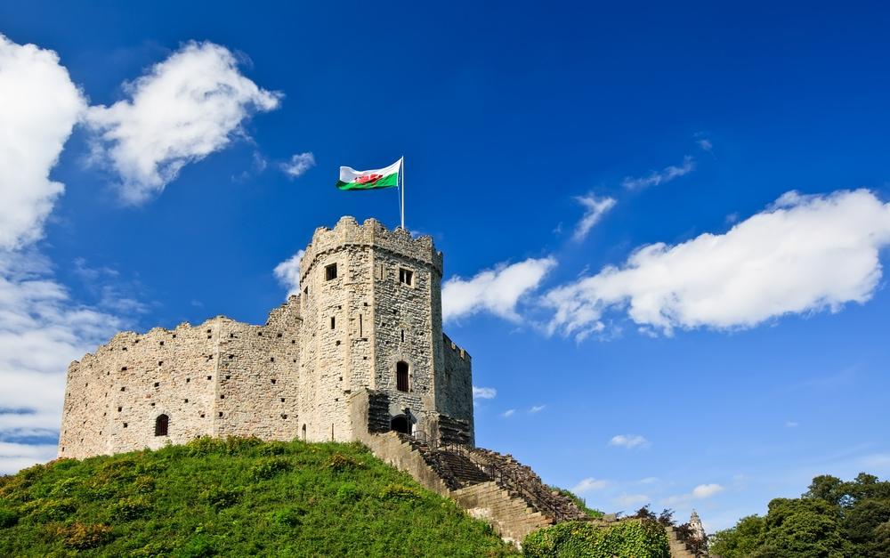 Schönsten Orte in Wales: Cardiff Castle