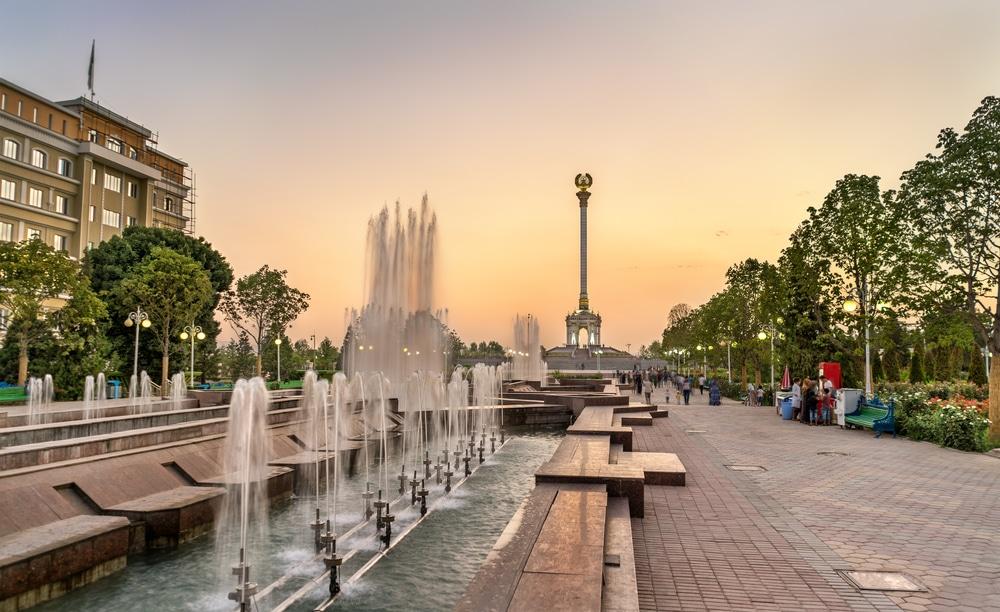 Zentrum von Dushanbe in Tadschikistan