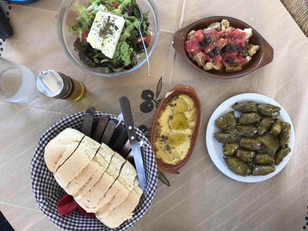 Essen auf Kreta