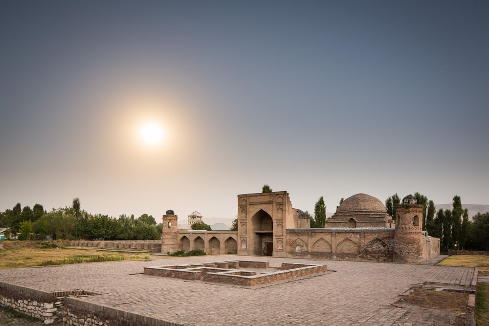 Stadt Hissar in Tadschikistan