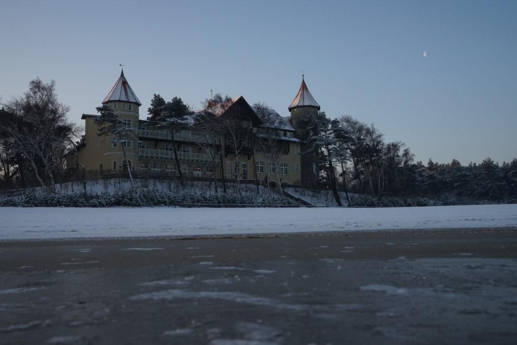 Hotel neptun in Leba, Polen