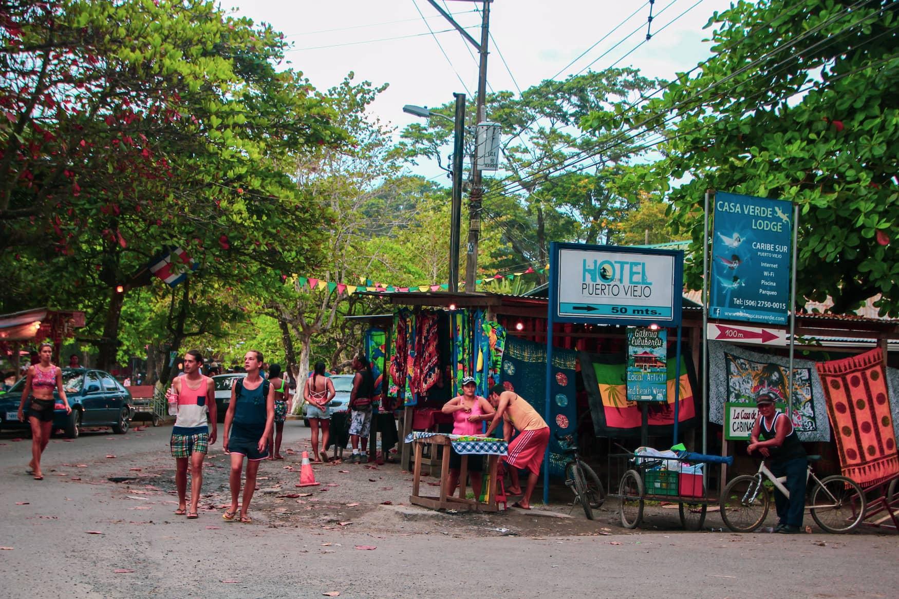 Karibisches Lebensgefühl in Puerto Viejo, Costa Rica