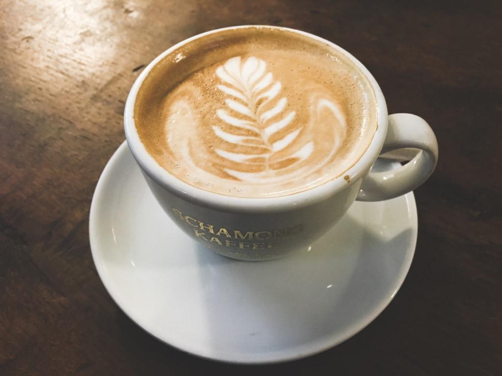 Mmh der Cappuccino sieht nicht nur lecker aus, sondern schmeckt auch so