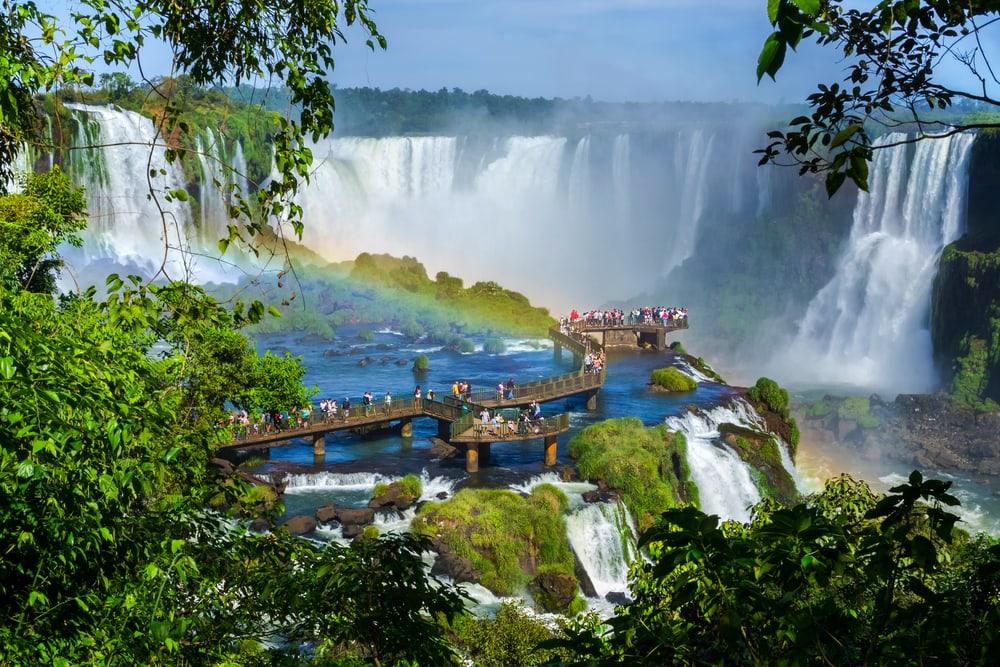 Ökotourismus in Braslien: Wasserfälle von Iguazu