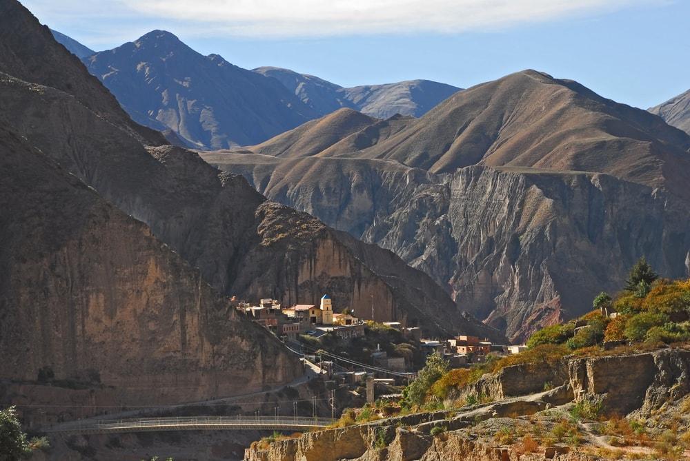 Inka-Stätte in Salta, Argentinien