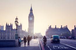 Reiseziele bei den Deutschen Ostern: London auf Platz 1