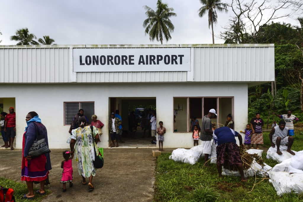 Lonorore Airport in Vanuatu