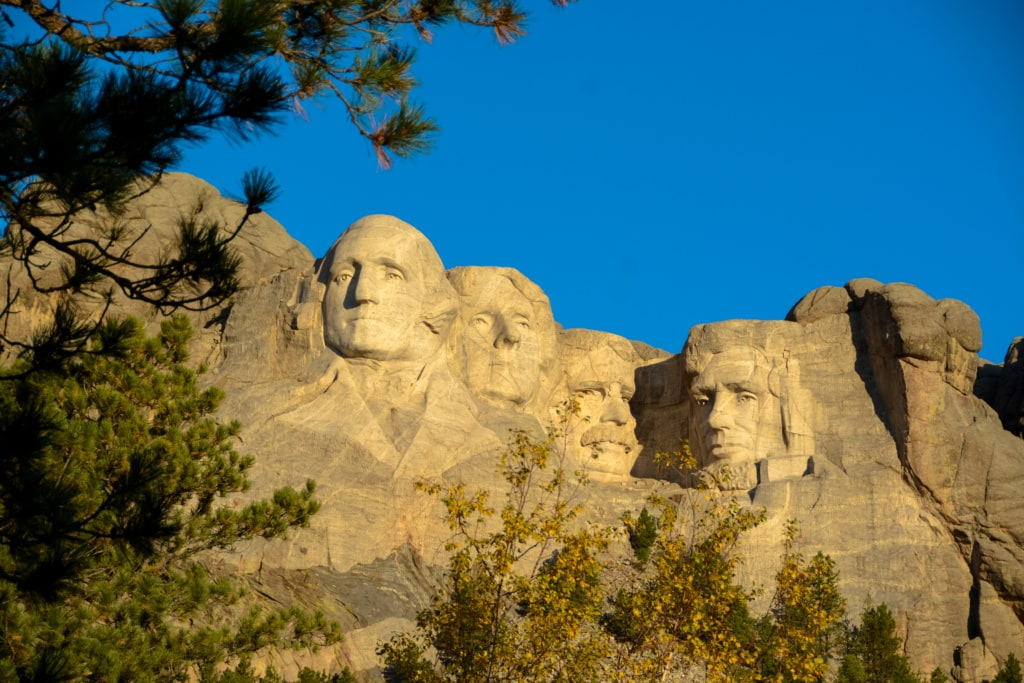 Unterwegs in South Dakota: Mount Rushmore