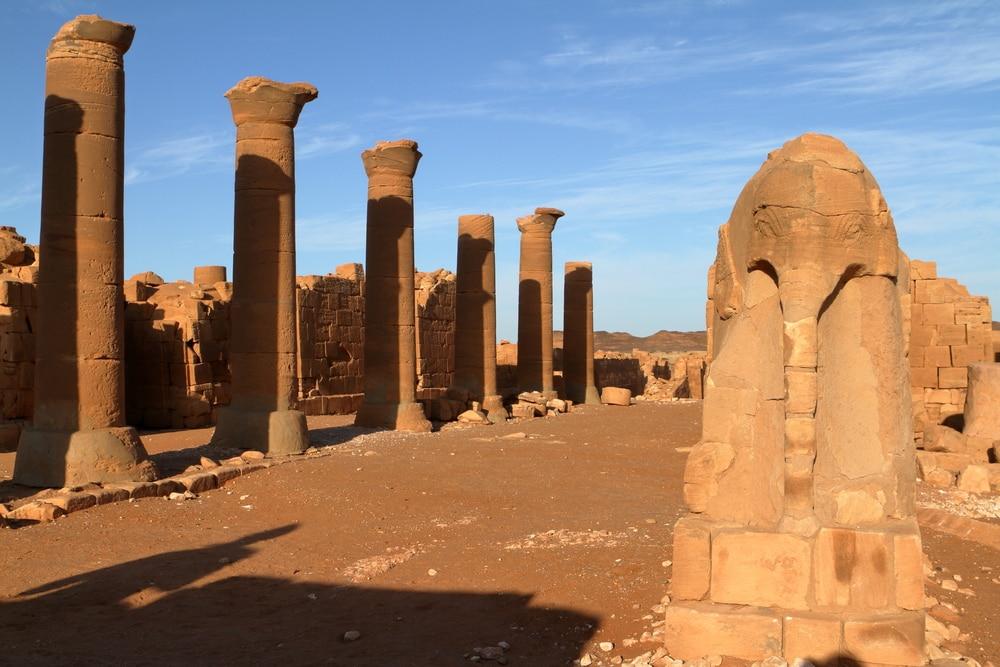 Tempel von Naga im Sudan