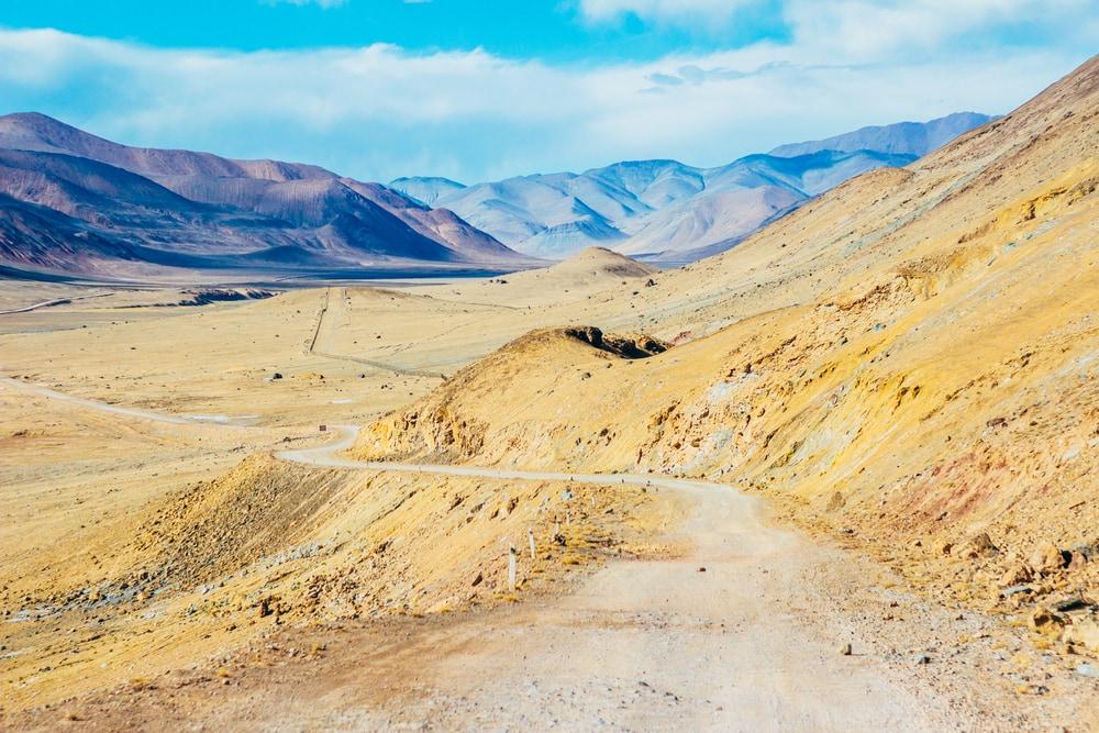 Pamir Highway in Tadschikistan