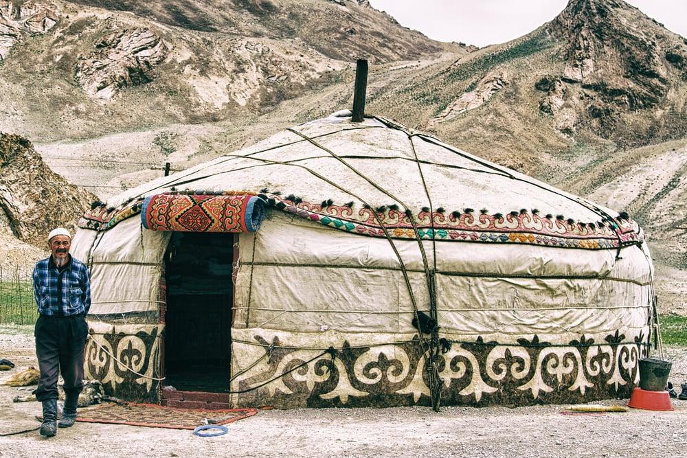 Unterkunft in Pamir, Tadschikistan