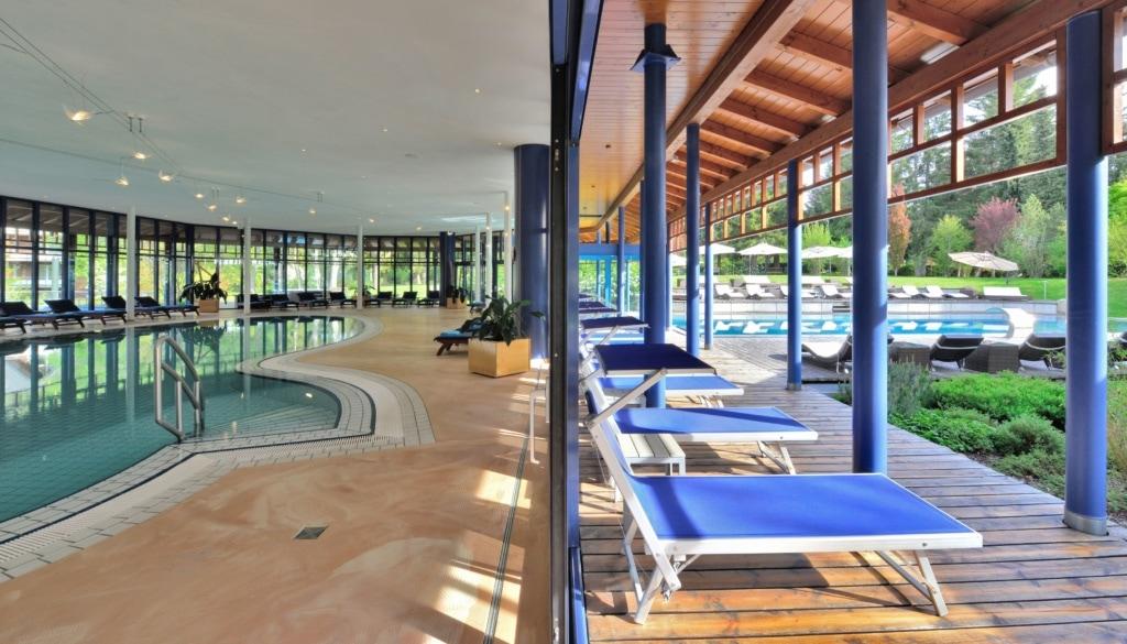 Spa und Schwimmbad im Parkhotel Adler