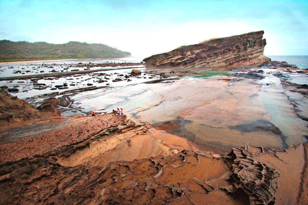 Im Norden Samars auf Biri Island liegen versteckt beeindruckende Felsformationen.