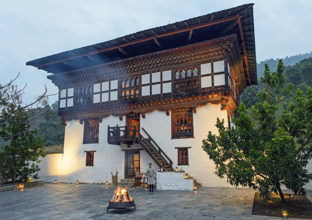 Aman Resorts lädt ein in die Berge des Himalaya in den Buthan.